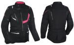 Oxford Montreal 3.0 Ladies Textile Jacket Black Pink